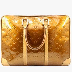 Auth Louis Vuitton Van Damme Business #4246L29